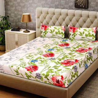 Valtellina 3D 1 Double bedsheet with 2 Pillow Covers 3DBD-008