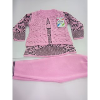 e3eb982cd990 Buy baby girl woolen sweater suit Online   ₹945 from ShopClues