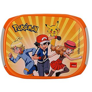Jaypee Plus Story Box Jr. Plastic Lunch Box Set 4-Pieces Orange