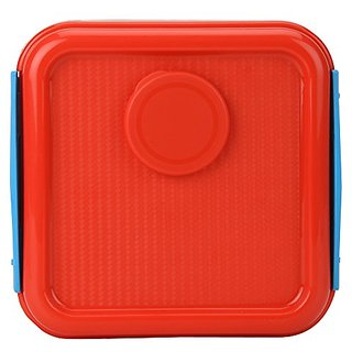 Jaypee Plus Sandwich Box with Ketchup Keeper, Red,pink