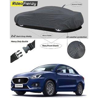 RideoFrenzy Maruti Dzire 2017 Body Cover with Mirror  Antenna Pocket