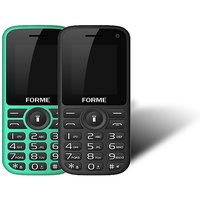 Forme N5+(Combo Of 2 Selfie Phones) Black+Red Green+Bla