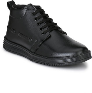 Lee Peeter Men's Black Lace-up Formal Shoes
