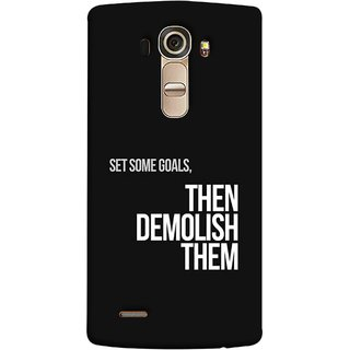 FUSON Designer Back Case Cover for LG G4 :: LG G4 Dual LTE :: LG G4 H818P H818N :: LG G4 H815 H815TR H815T H815P H812 H810  H811  LS991 VS986 US991 (Motivational Inspirational Saying Quotes Words Big)