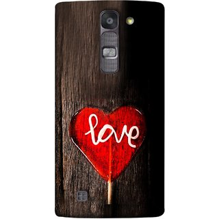 FUSON Designer Back Case Cover for LG G4 Mini :: LG G4c :: LG G4c H525N (Big Tree Dark Red Candy Heart Shape)