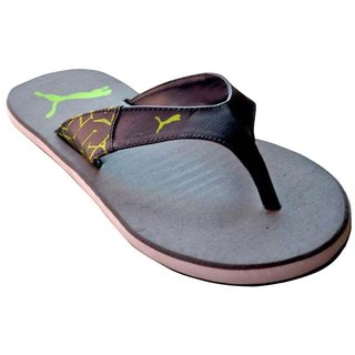 142a9ff2f532 Buy Puma Winglet Grey Slipper Flip Flops Online   ₹1499 from ShopClues