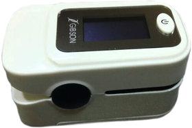 GIBSON FINGERTIP PULSE OXIMETER WHITE (NEW MODEL )
