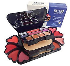 Foldable ADS Branded 4 In 1 Fashionable Make-Up Kit A3746-2