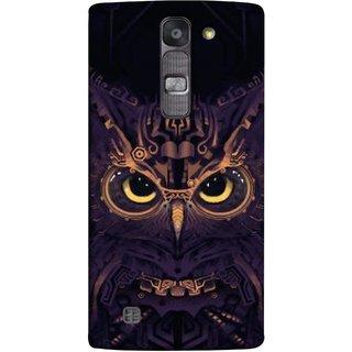 FUSON Designer Back Case Cover for LG G4 Mini :: LG G4c :: LG G4c H525N (Big Eye Danger Perfect Owl Bird Mysterious)