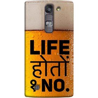 FUSON Designer Back Case Cover for LG G4 Mini :: LG G4c :: LG G4c H525N (Life Hoto Beer Glass Bubble Daaru Drink Wine )