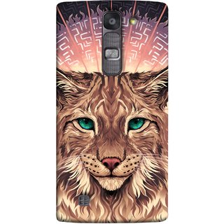 FUSON Designer Back Case Cover for LG G4 Mini :: LG G4c :: LG G4c H525N (Green Ankho Wali Billi Cats Sunshine Concentrate)