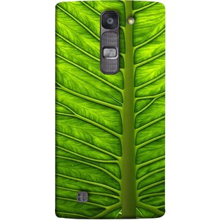FUSON Designer Back Case Cover for LG G4 Mini :: LG G4c :: LG G4c H525N (Bright Green Leaf Of Tree Full Of Life Network Of Veins)