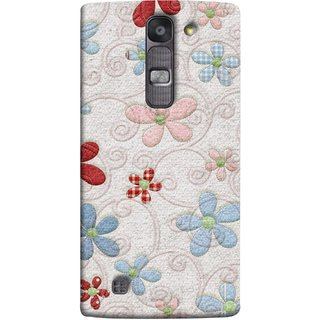 FUSON Designer Back Case Cover for LG G4 Mini :: LG G4c :: LG G4c H525N (Nice Design Flowers Table Cloth Curtain Cloths )