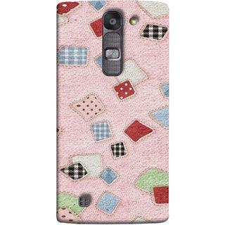FUSON Designer Back Case Cover for LG G4 Mini :: LG G4c :: LG G4c H525N (Baby Pink Lot Colours Squares Patch Tiles )