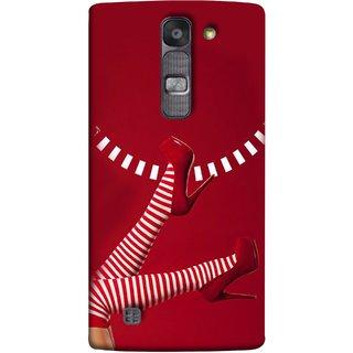 FUSON Designer Back Case Cover for LG G4 Mini :: LG G4c :: LG G4c H525N (High Heel Red And White Socks Beautiful Legs Girl)