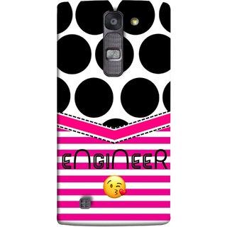 FUSON Designer Back Case Cover for LG G4 Mini :: LG G4c :: LG G4c H525N (Kissing Smileyengineering Nice Semister Pink Design Paper)
