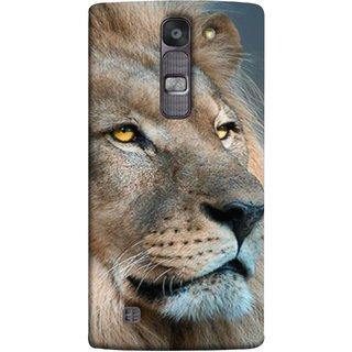 FUSON Designer Back Case Cover for LG G4 Mini :: LG G4c :: LG G4c H525N (Jungle King Stearing Aslan Painting Oil Art )