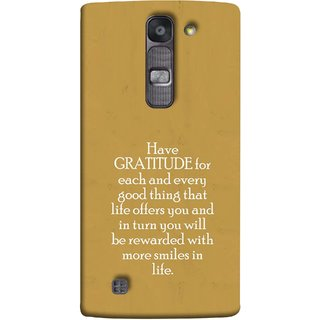 FUSON Designer Back Case Cover for LG G4 Mini :: LG G4c :: LG G4c H525N (Life Offer You And In Turn You Will Be Rewarded With )