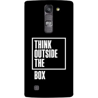 FUSON Designer Back Case Cover for LG G4 Mini :: LG G4c :: LG G4c H525N (Always Think From Other Point Different View New Idea )