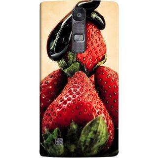 FUSON Designer Back Case Cover for LG G4 Mini :: LG G4c :: LG G4c H525N (Best Fresh Strawberry Sweet Dish Homemade Recipes)