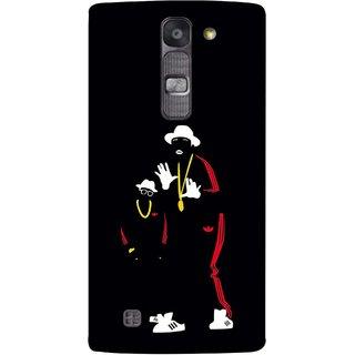 FUSON Designer Back Case Cover for LG G4 Mini :: LG G4c :: LG G4c H525N (Ultraviolet Light White Shoes Posing Spects Gold )
