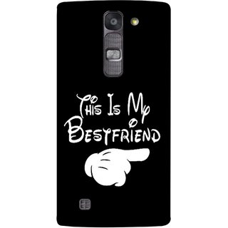 FUSON Designer Back Case Cover for LG G4 Mini :: LG G4c :: LG G4c H525N (Friends Always Together Dosti Yaari Masti Maja Fun)