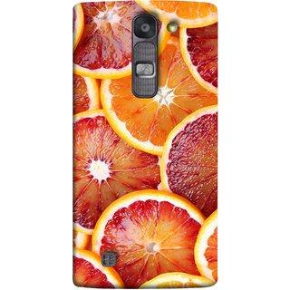 FUSON Designer Back Case Cover for LG G4 Mini :: LG G4c :: LG G4c H525N (Citric Flesh Food Fruit Green Lemon Part Peel Orange)