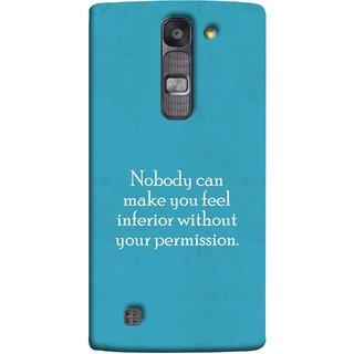 FUSON Designer Back Case Cover for LG G4 Mini :: LG G4c :: LG G4c H525N (Permission Motivational Inspirational Saying Quotes)