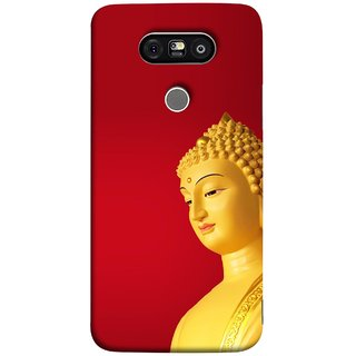 FUSON Designer Back Case Cover for LG G5 ::  LG G5 Dual H860N :: LG G5 Speed H858 H850 VS987 H820 LS992 H830 US992 (Gautam Buddha Statue Scenary Lord Siddharth)