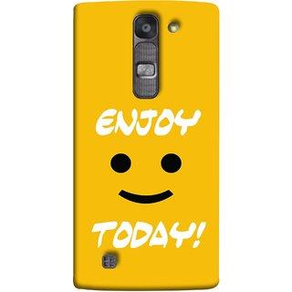 FUSON Designer Back Case Cover for LG G4 Mini :: LG G4c :: LG G4c H525N (Big Smiley Smiling Positive Wallpaper Back Cover)