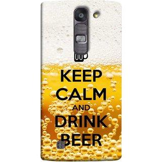 FUSON Designer Back Case Cover for LG G4 Mini :: LG G4c :: LG G4c H525N (Beer Sign Glasses Bubbles Daaru Drink Wine Vodka)