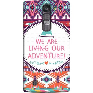 FUSON Designer Back Case Cover for LG G4 Mini :: LG G4c :: LG G4c H525N (Colourful Wallpaper Best Quotes Bright Wall Design)