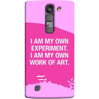 FUSON Designer Back Case Cover for LG G4 Mini :: LG G4c :: LG G4c H525N (I Am My Own Work Of Art Madonna Ciccone Quotes)