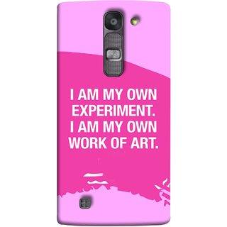 FUSON Designer Back Case Cover for LG G4 Mini :: LG G4c :: LG G4c H525N (I Am My Own Work Of Art Madonna Ciccone Quotes)