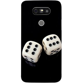 FUSON Designer Back Case Cover for LG G5 ::  LG G5 Dual H860N :: LG G5 Speed H858 H850 VS987 H820 LS992 H830 US992 (Dice Pair Nice Game India Fevorite Children Boys Girls )