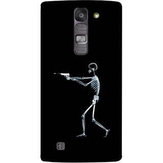 FUSON Designer Back Case Cover for LG G4 Mini :: LG G4c :: LG G4c H525N (Incredible Human Xray Pictures Revolver Icon In Black)