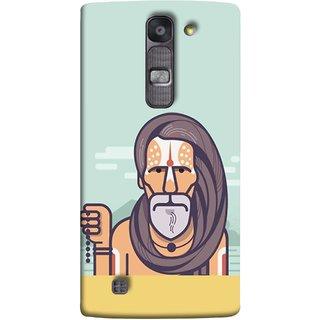 FUSON Designer Back Case Cover for LG G4 Mini :: LG G4c :: LG G4c H525N (Himalaya Sadhu Kumbh Mela Beard Rudraksh Mala)