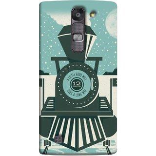 FUSON Designer Back Case Cover for LG G4 Mini :: LG G4c :: LG G4c H525N (Train Engine Smoke Little Good Will Goes Long Way)