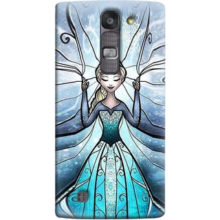 FUSON Designer Back Case Cover for LG G4 Mini :: LG G4c :: LG G4c H525N (The Blue Rose Doll Baby Girl Nice Dress Long Hairs )
