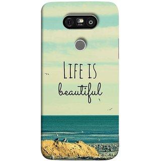 FUSON Designer Back Case Cover for LG G5 ::  LG G5 Dual H860N :: LG G5 Speed H858 H850 VS987 H820 LS992 H830 US992 (Adorable Wallpapers Best Quotes Enjoy Together Happy)