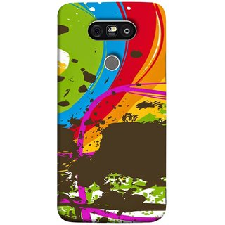 FUSON Designer Back Case Cover for LG G5 ::  LG G5 Dual H860N :: LG G5 Speed H858 H850 VS987 H820 LS992 H830 US992 (Forest Nature Whimsical Fantasy Fine Art Spots)
