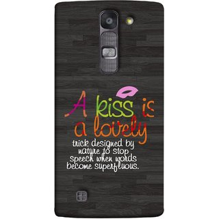 FUSON Designer Back Case Cover for LG G4 Mini :: LG G4c :: LG G4c H525N (Words Superfluous To Stop Speech Become Stop)