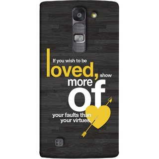FUSON Designer Back Case Cover for LG G4 Mini :: LG G4c :: LG G4c H525N (Broken Heart Arrow Quotes Show More Your)