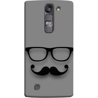 FUSON Designer Back Case Cover for LG G4 Mini :: LG G4c :: LG G4c H525N (Mustache Glasses T-ShirtYoung Boys Back Cover)