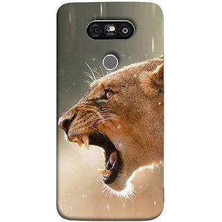 FUSON Designer Back Case Cover for LG G5 ::  LG G5 Dual H860N :: LG G5 Speed H858 H850 VS987 H820 LS992 H830 US992 (Tiger Lion Chitta Angrily Looking Killer Hunter Shikari)