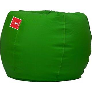Comfy Bean Bags - Bean Bag - Size Xxxl - Filled With Beans Filler ( Pea Green )