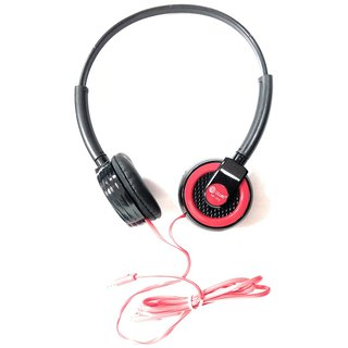 Bluei HP-303 Over Ear Wired Headphones With Mic Colour May Vary