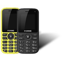 Forme N5+(Combo Of 2 Selfie Phones) Black+Red With Yell