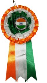 Indian Flag Coat Pin / Brooch / Badge for Clothing Accessories (Pack of 3)