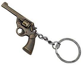 Metal Gun Key Chain